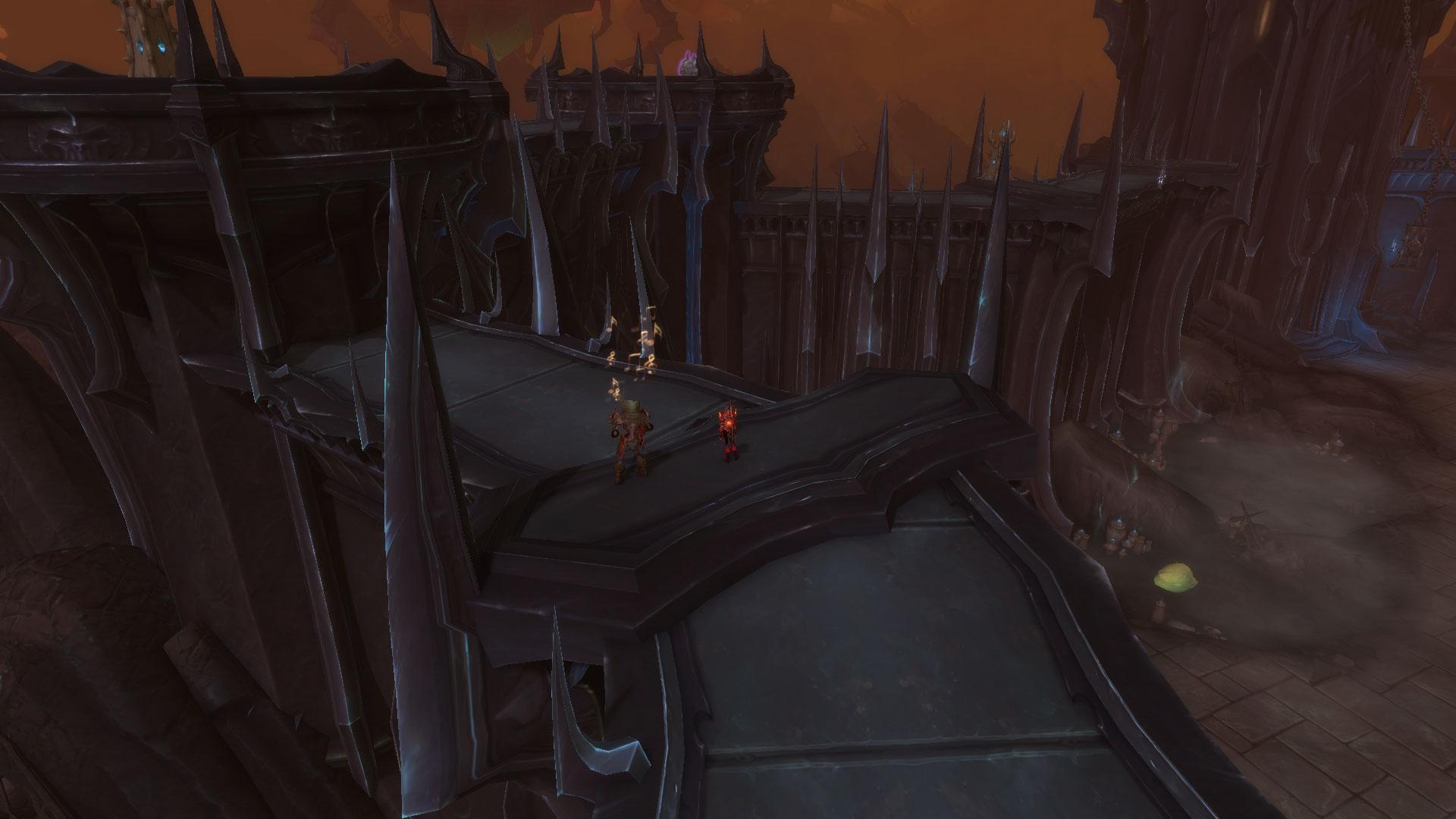 Deux caches sont situées dans les hauteurs