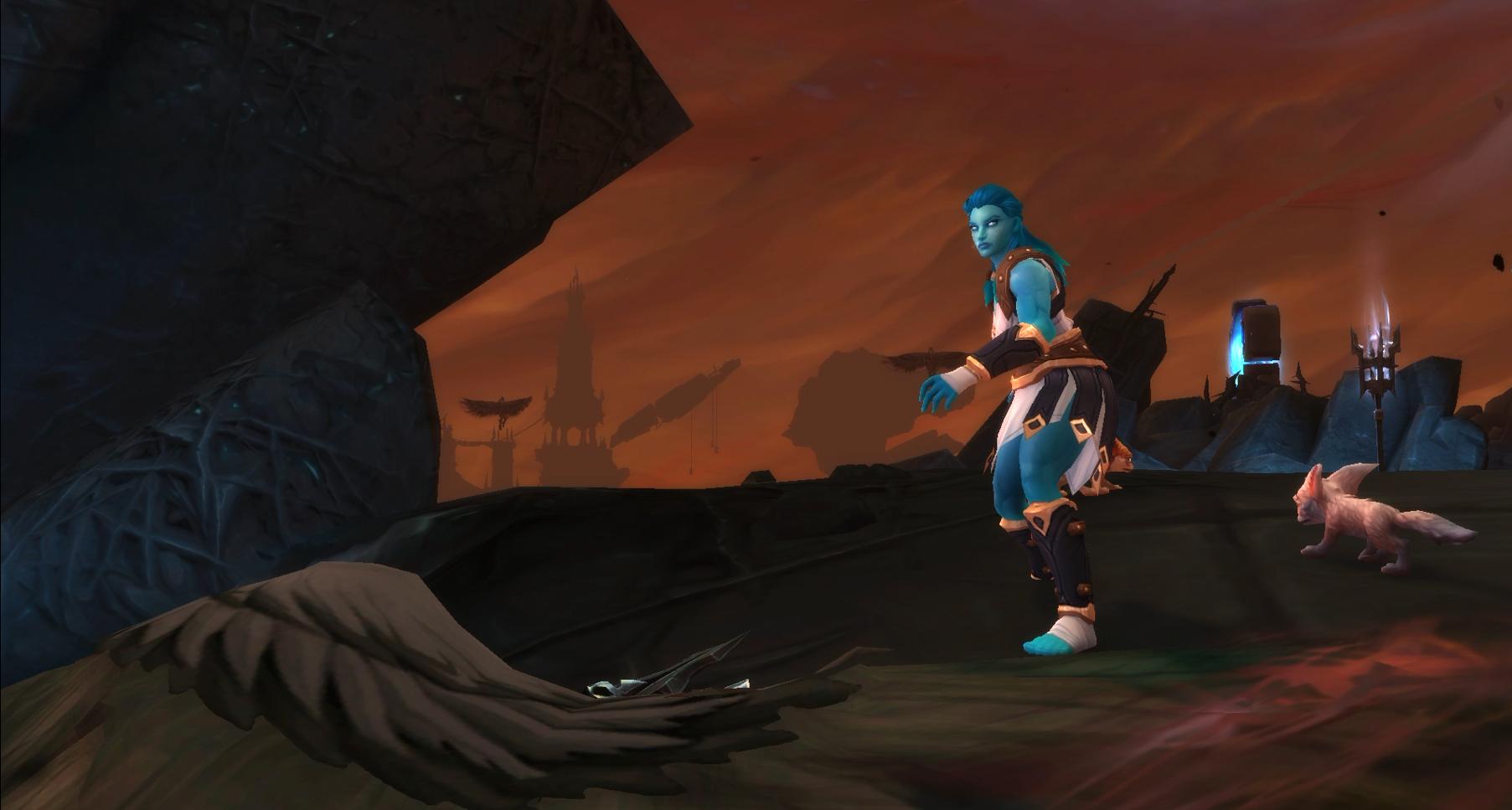 Trouvez l'Oracle Kloé au Cocyrus pendant un assaut Kyrians