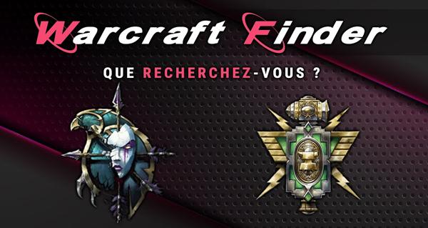warcraft finder : le site pour creer votre equipe en mythique + ou en raid