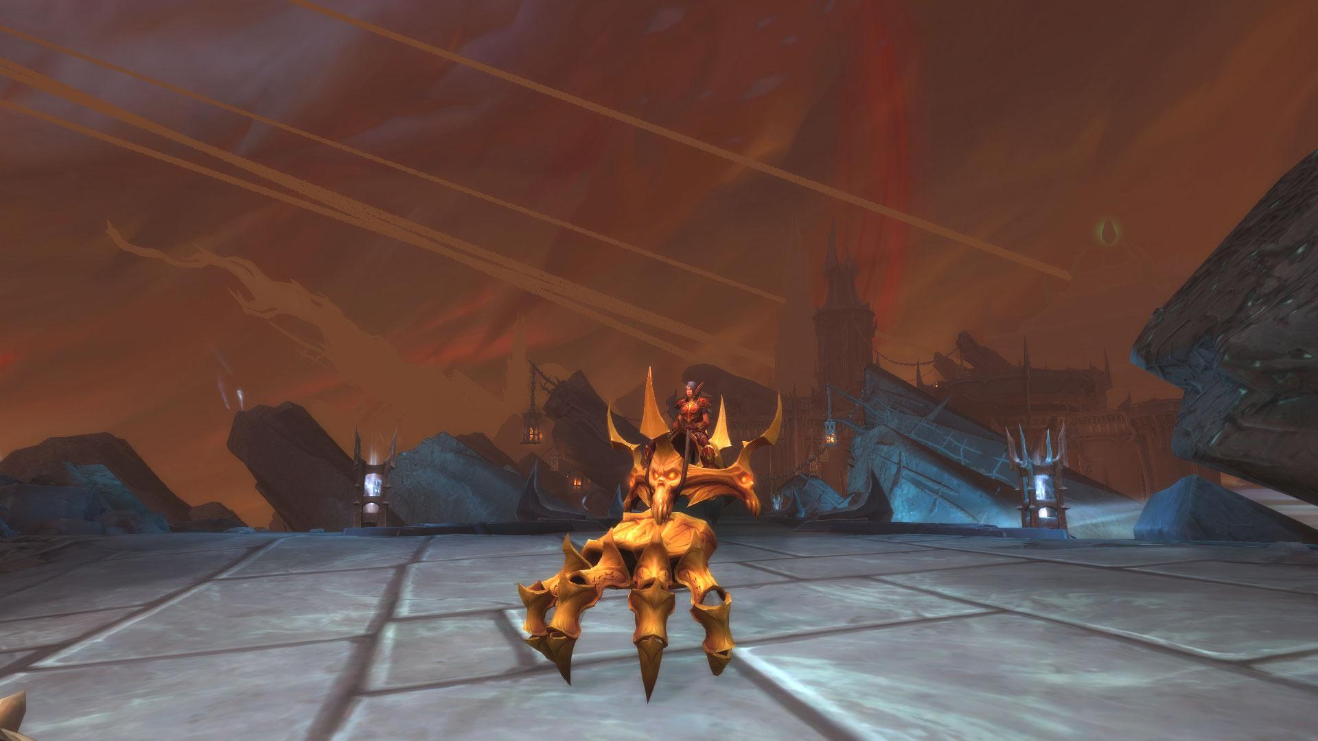 La monture Anneau de contrôle de Nilganihmaht dans World of Warcraft