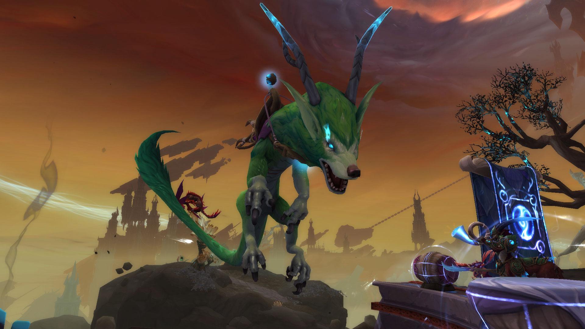Le Lycodrac en fuite, une créature rare de Korthia