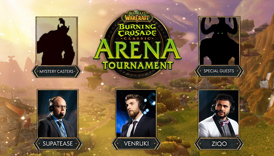 Le tournoi d'arène Burning Crusade Classic sera diffusé du 23 au 25 juillet 2021