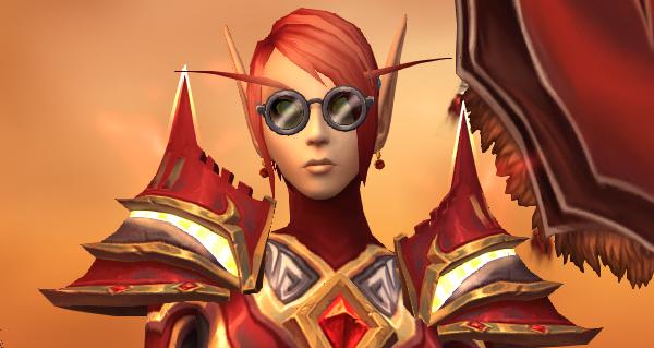 patch 9.1 : nouvelles lunettes pour la transmogrification disponibles !