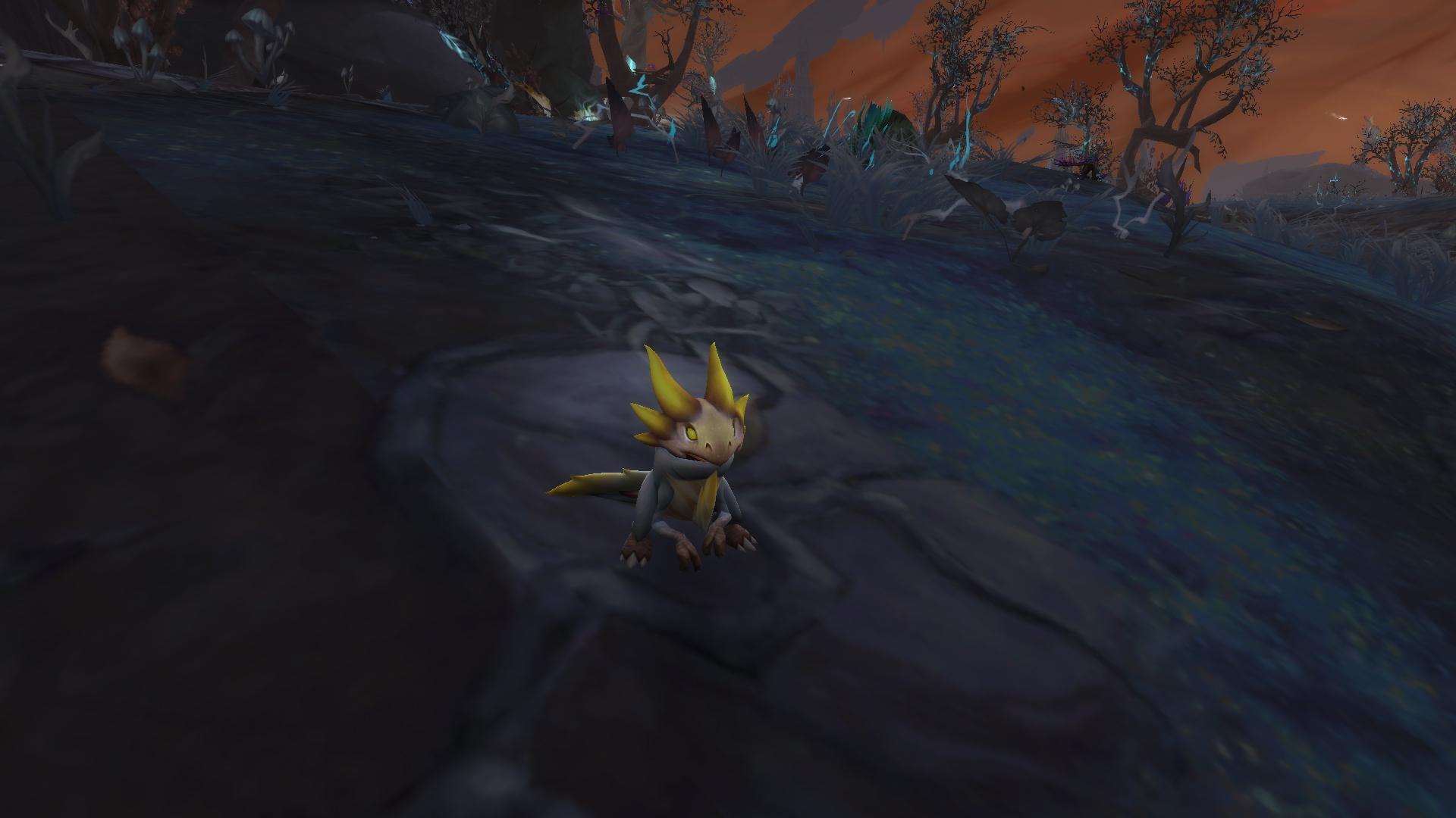 Mascotte Shadowlands patch 9.1 : Grignoteur anxieux