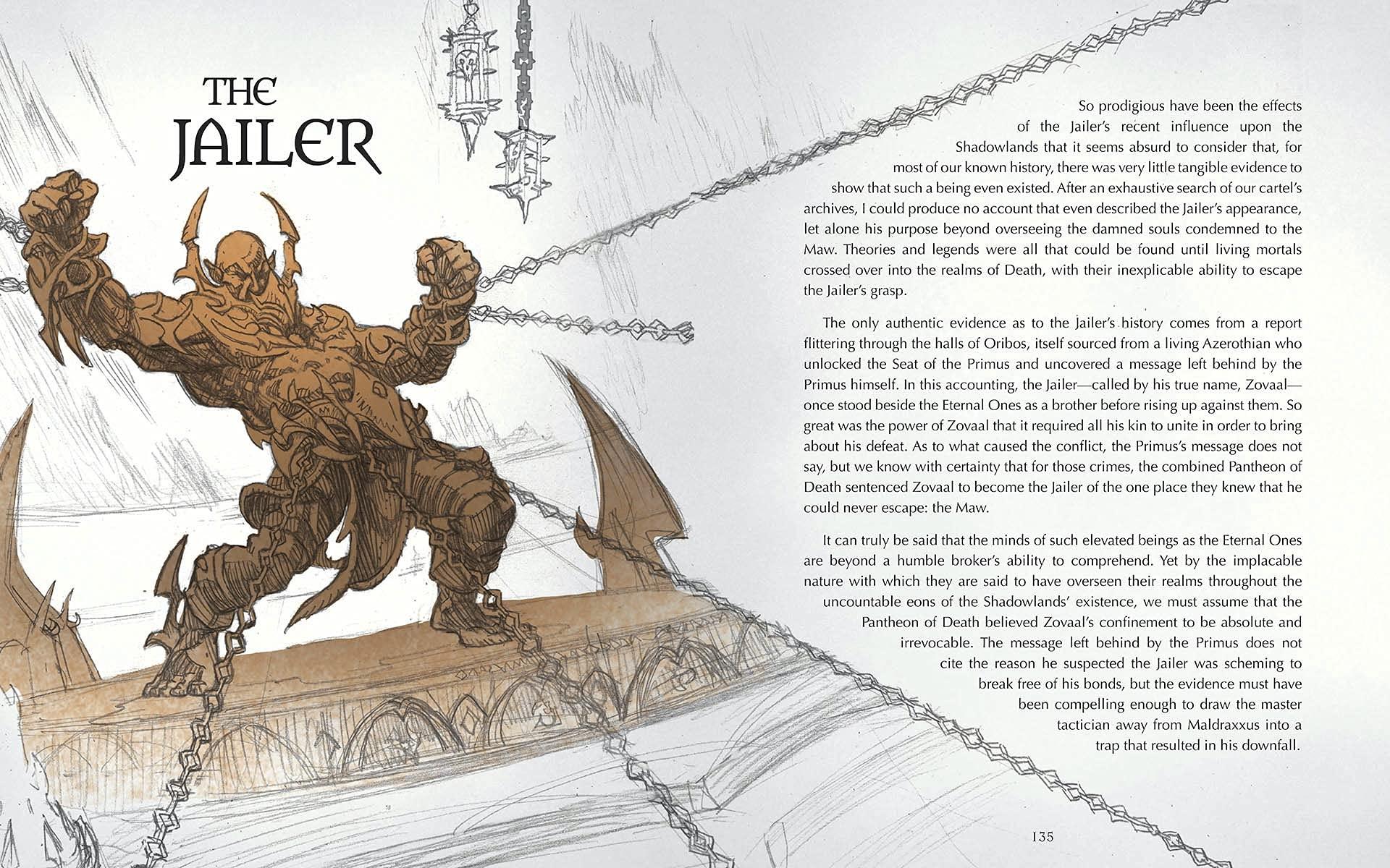 Le grimoire de l'ombreterre, le prochain livre de World of Warcraft