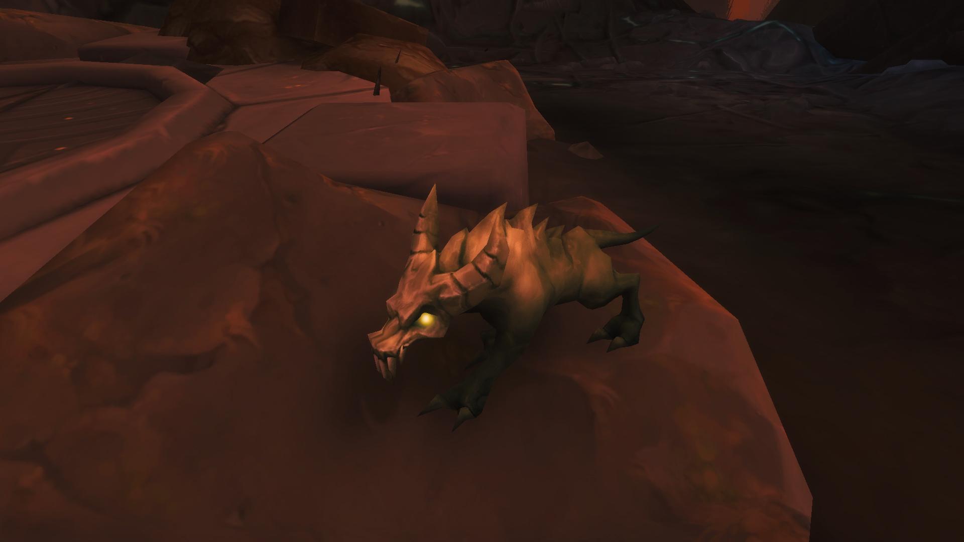 Mascotte Shadowlands patch 9.1 : Rat de l'Antre carapateur