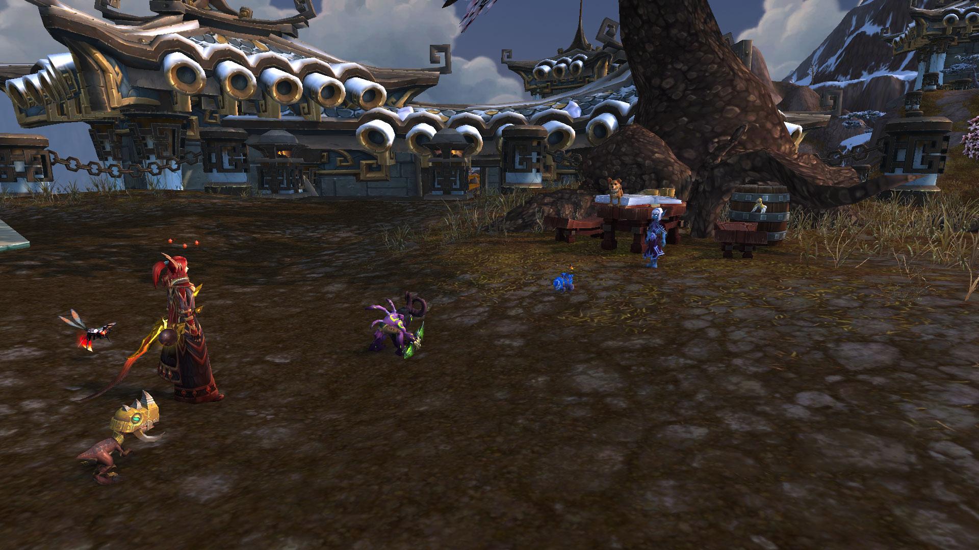 Affrontez Anthéa au Sommet de Kun-Lai au patch 9.1 de Shadowlands