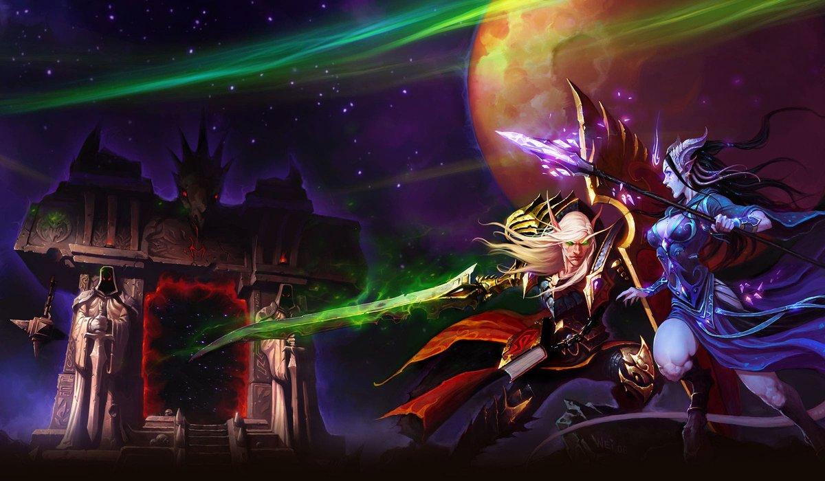 Les elfes de sang et les Draenei arrivent avec le prépatch