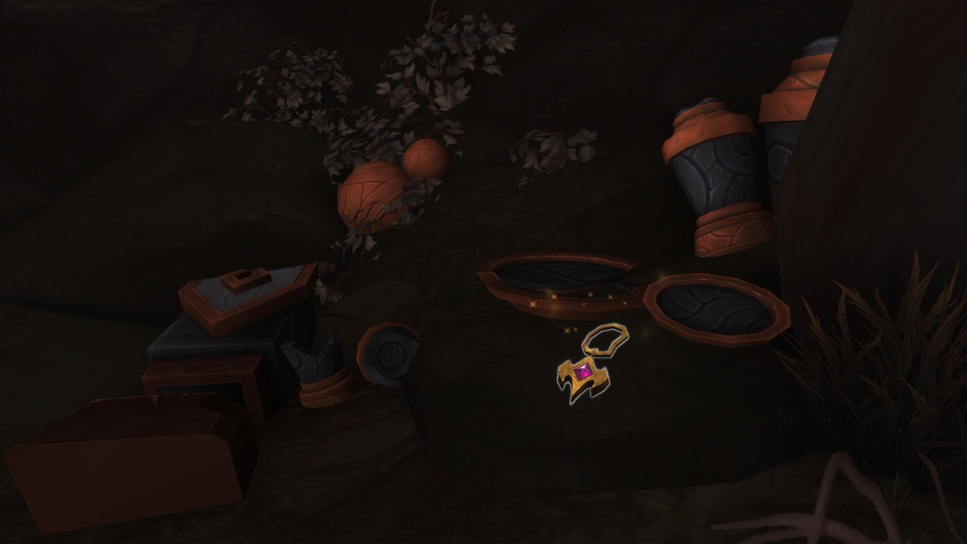 Trouvez des reliques permettant de lancer des quêtes auprès du Codex de l'archiviste