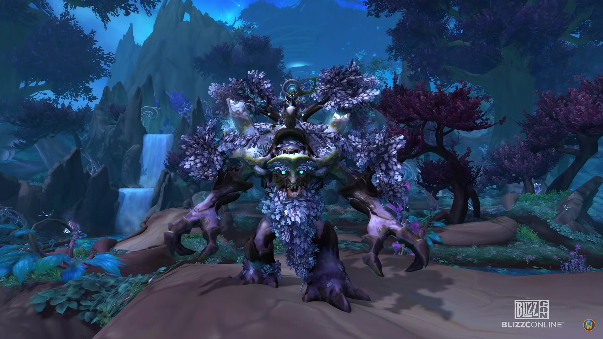 L'Ancien vagabond est une monture offerte aux joueurs ayant activé Shadowlands