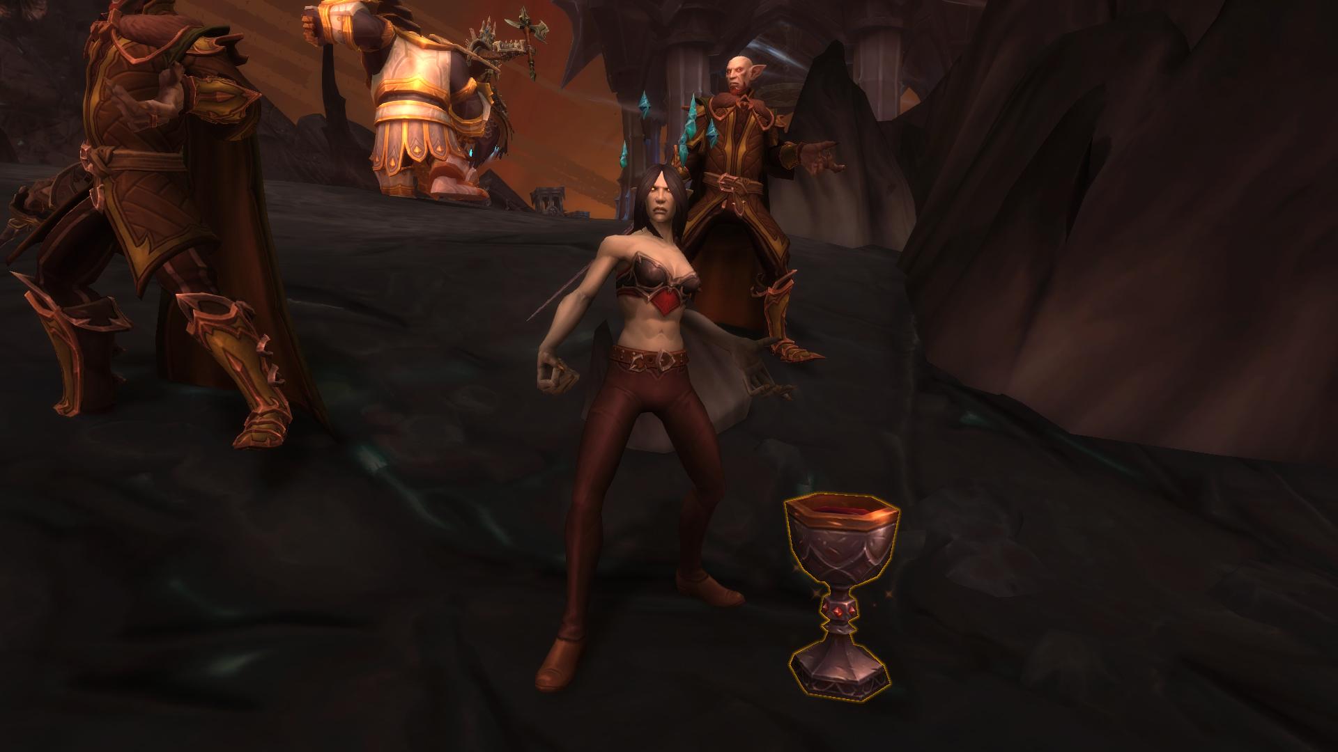 Vulca permet d'obtenir la quête Le comte des Braises pendant un assaut Kyrians sur L'Antre