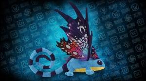 Peluche Dragon féerique du Néant
