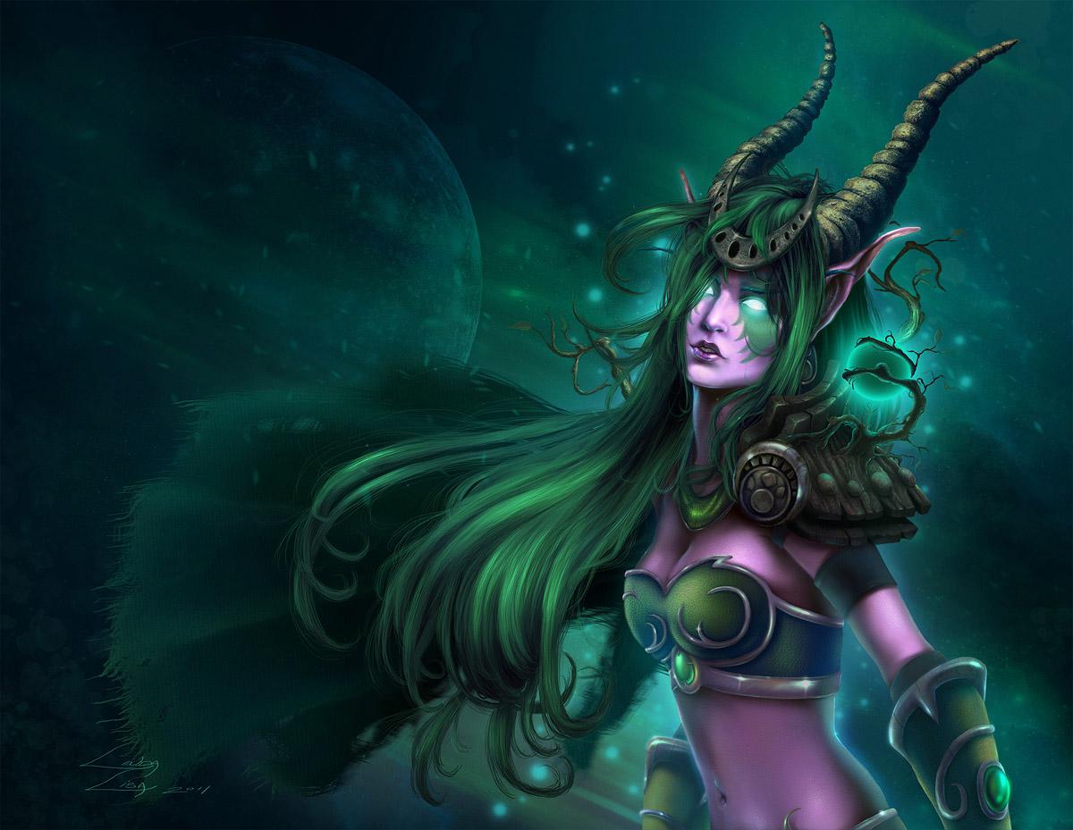 Découvrez cinq nouveaux fanarts sur le thème de Warcraft