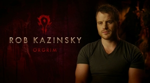Rob Kazinsky interprête Orgrim