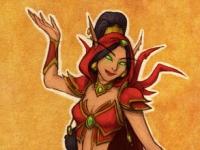 "L""Elfe de sang Jasmine"