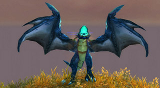 Le Proto-drake bleu, monture de Wotlk