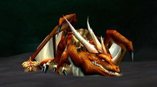 Andrestrasz le dragon situé au sud d'Ahn'Qiraj
