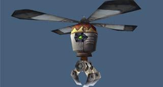 La pince volante abandonnée