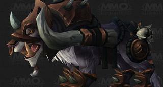 La monture Kor'Kron War Wolf