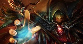 Khadgar et Medivh au centre du film Warcraft