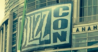 Le convention center d'Anaheim aux couleurs de la Blizzcon