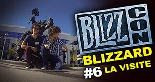 Mamytwink et Enigmatik visitent des locaux de Blizzard (épisode #6)