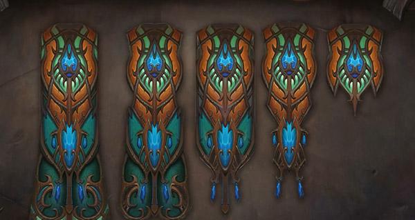 Warlords of Draenor : nouveaux modèles de capes