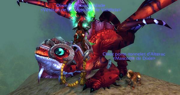 Dragon-faë et Chiot porte-tonnelet en images