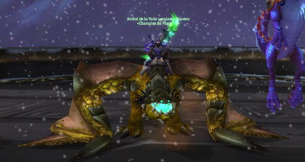 Proto-drake perdu dans le temps et Aeonaxx