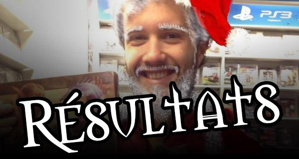 Résultats du grand concours de Noël