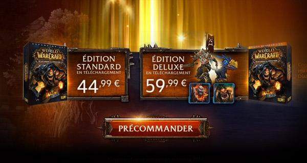 Warlords of Draenor : des infos sur l'évènement pré-extension