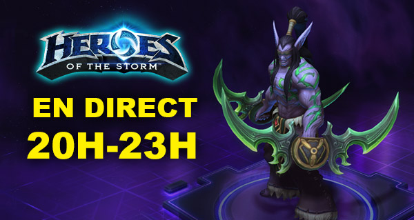 Heroes of the Storm : on y joue en direct de 20h à 23h