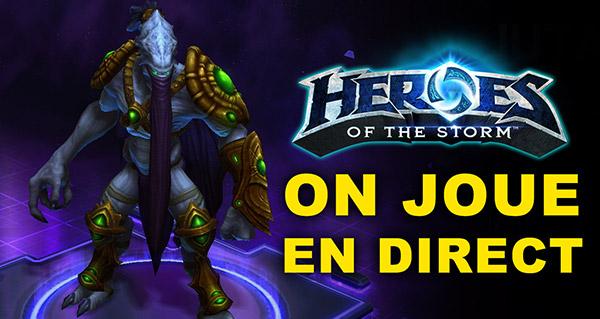 Heroes of the Storm : on y joue en direct de 20h à 23h