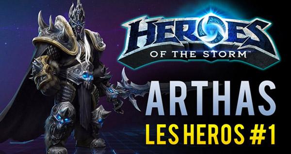 Heroes of the Storm : présentation d'Arthas en vidéo