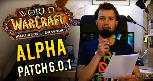 Vidéo sur le patch note de l'alpha
