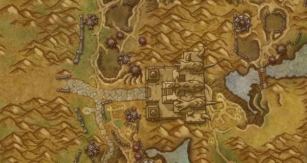 Zone de la Porte de ténèbres en Draenor