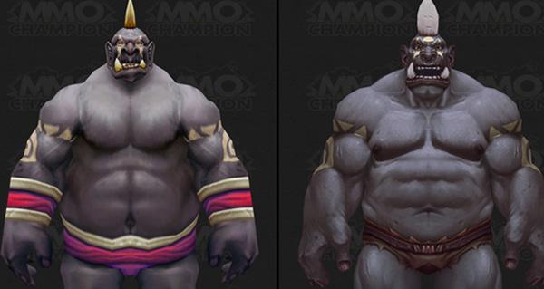 Les anciens et nouveaux modèles des Ogres
