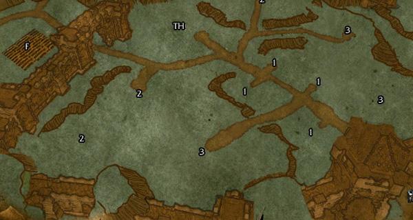 WoD : cartes des fiefs