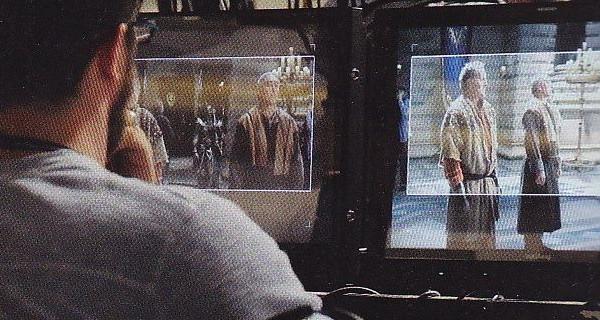 Première image du tournage