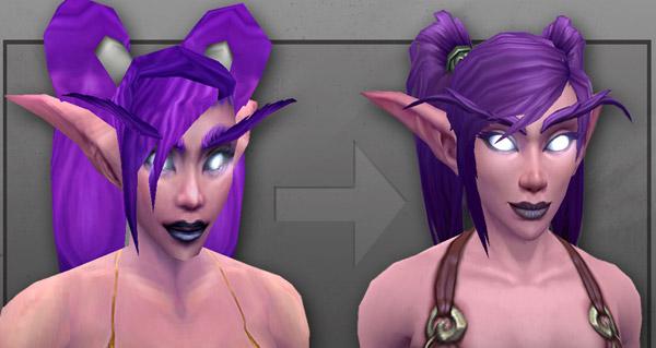 Le nouveau modèle Elfe de la nuit