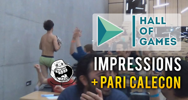 Hall of Games : mes impressions en vidéo