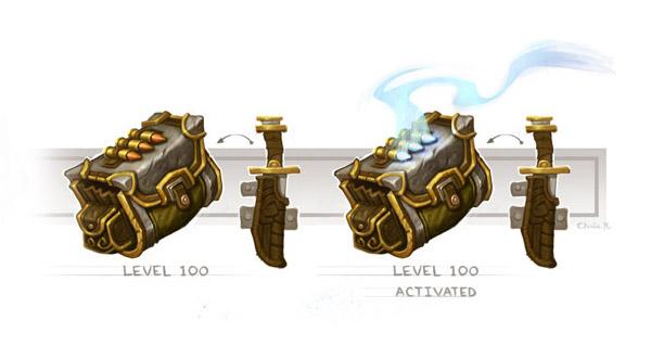 Les accessoires de classe par Blizzard