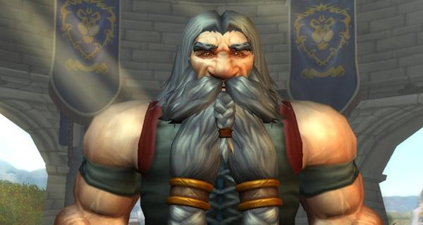 Alpha de Warlords : nouveaux modèles de personnages