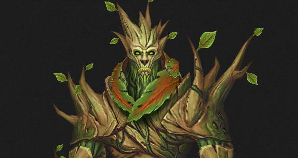 Le Botani, l'homme-arbre