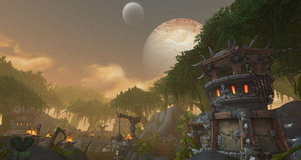 La Jungle de Tanaan sera disponible lors d'un patch