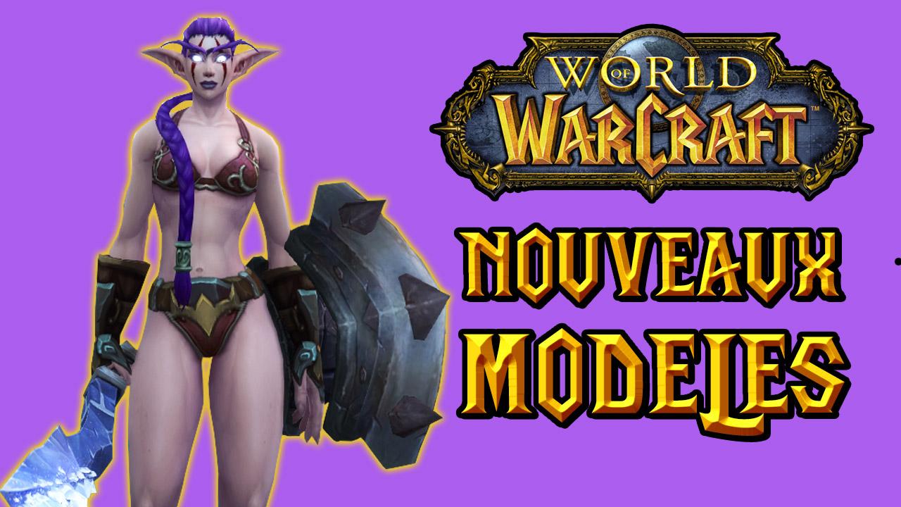 Nouveaux modèles des personnages en vidéo