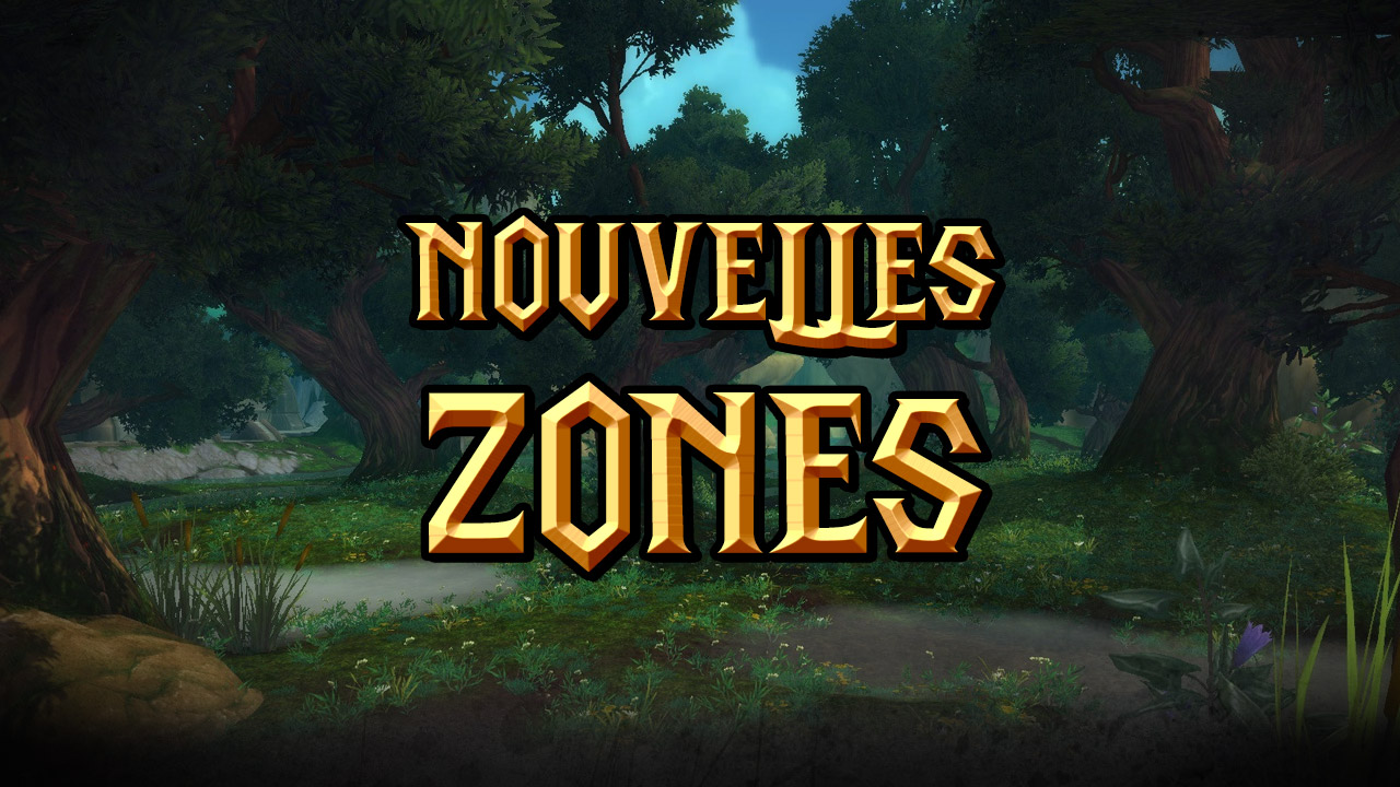 Nouvelles zones de Draenor