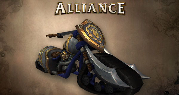 Le Chopper de l'Alliance disponible