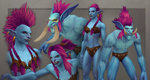 Nouveaux modèles Troll