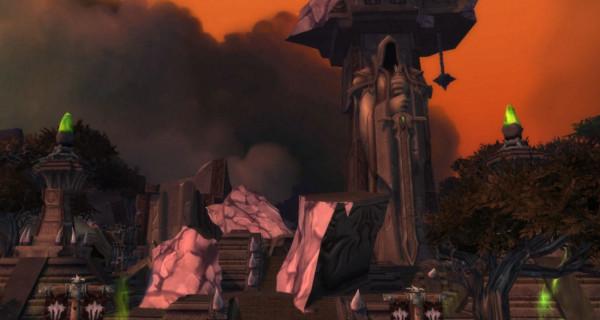 La porte des ténèbres détruite